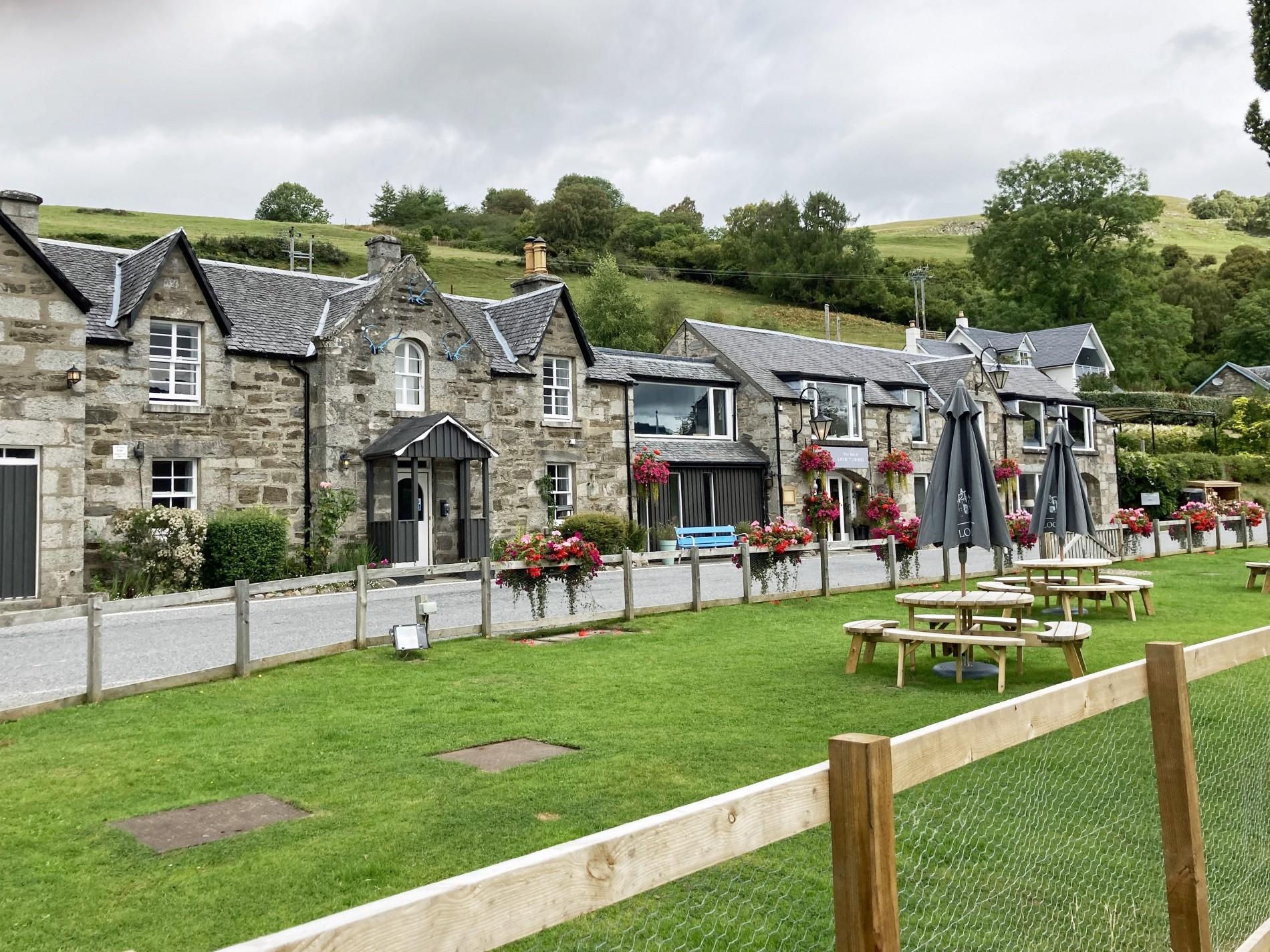 Inn at Loch Tummel Exterior Sept 21